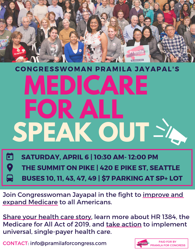 MEDICARE FOR ALL SPEAK OUT 040619